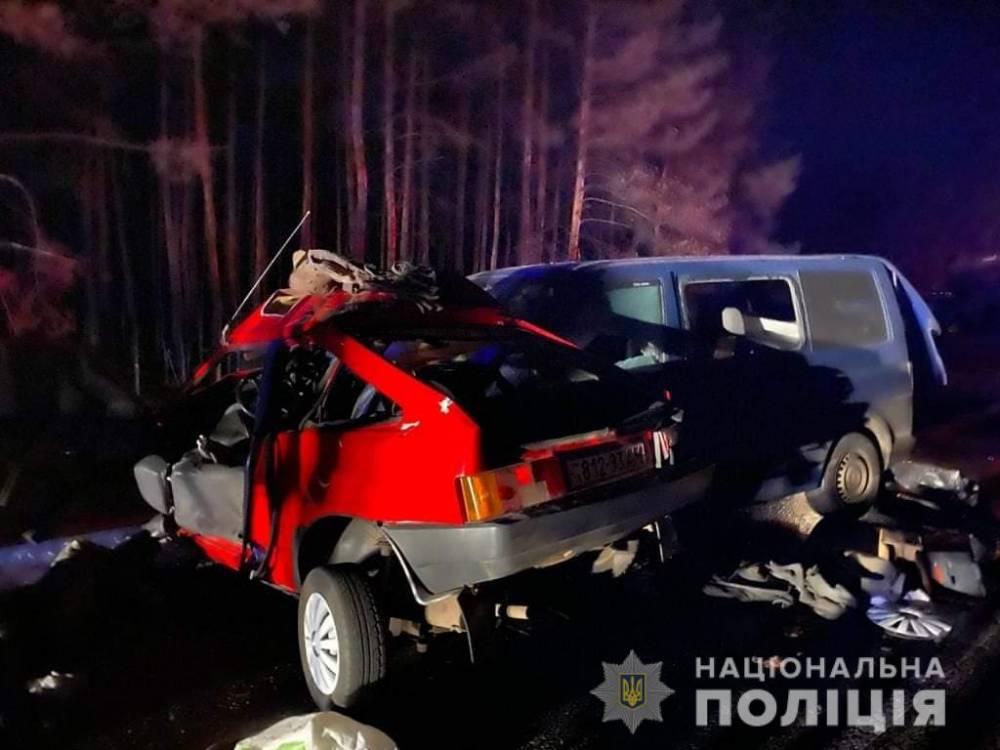 В Луганской области в аварии погиб полицейский