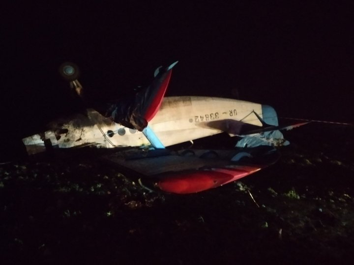В Тернопольской области при аварии самолета погиб пилот