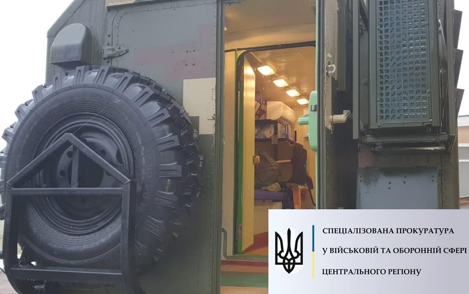 В Черниговской области военный, выкрав ноутбуки, вывел из строя радиостанцию