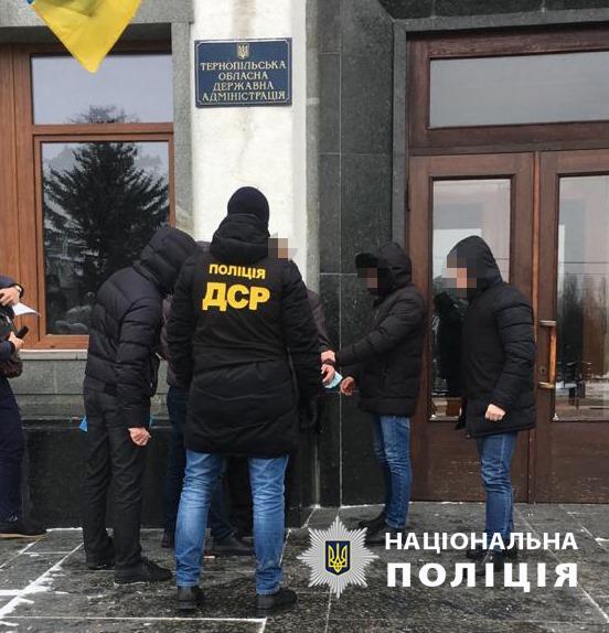 В Тернопольской ОГА на взятке поймали топ-чиновника