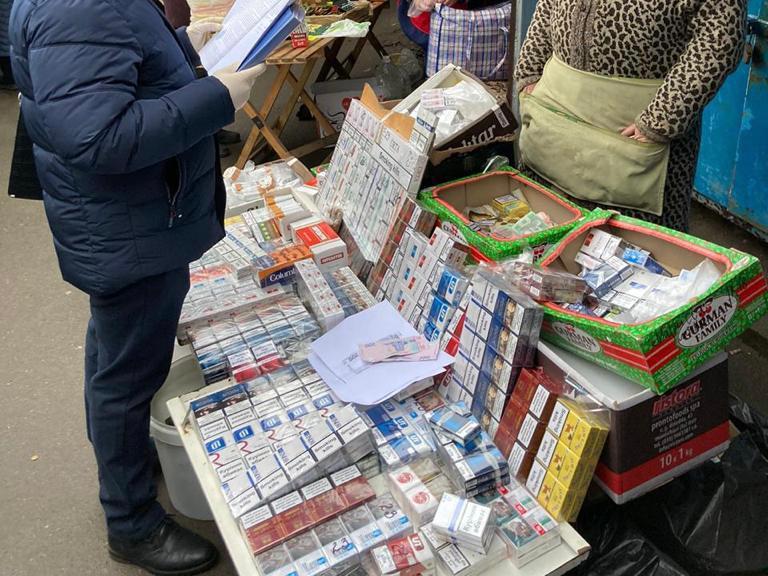 В Хмельницкой области изъяли партию фальсифицированных сигарет на 3,5 млн гривен
