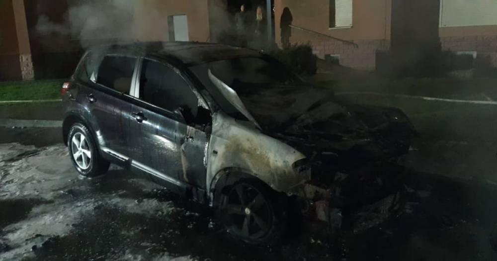 В Ивано-Франковске судье сожгли машину