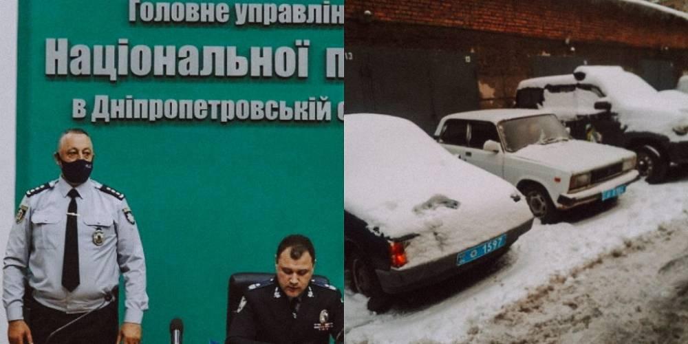 Нацполицию в Днепропетровской области обвиняют в присвоении денег на ремонте авто