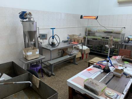 В Днепропетровской области разоблачили подпольный цех по изготовлению табачных изделий