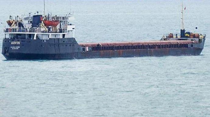 Морская администрация выдала разрешение на проход в Николаевский порт затонувшему сухогрузу