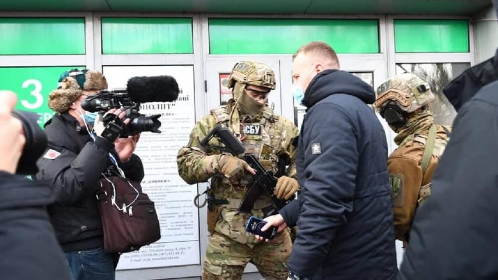 В Запорожье СБУ заблокировала собрание акционеров «Мотор Сич»