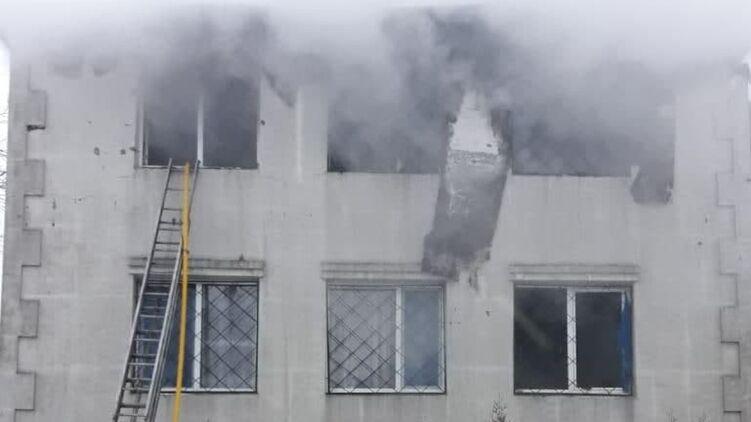 В Харькове владельцу сгоревшего дома престарелых вручили подозрение