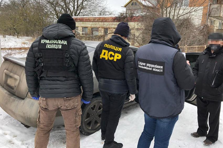 В Хмельницком задержали группу фальшивомонетчиков