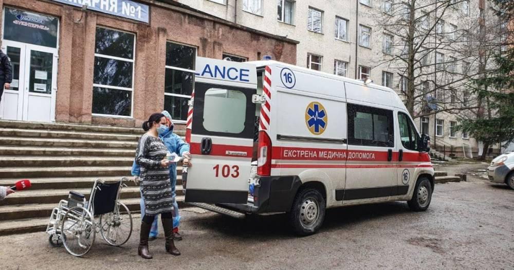 В Черновцах из-за взрыва в больнице погиб пациент