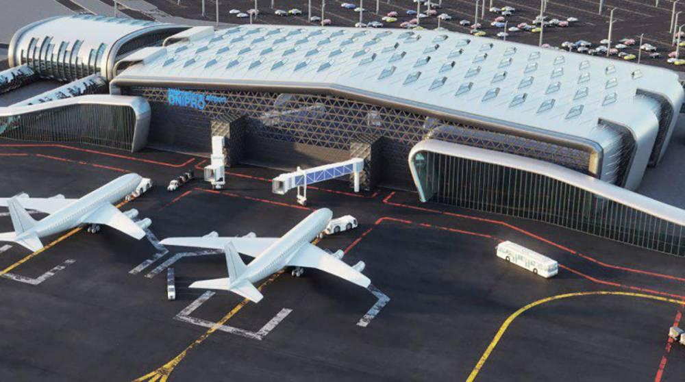 Cтроительство аэропорта в Днепре под угрозой из-за ценовой политики генподрядчика