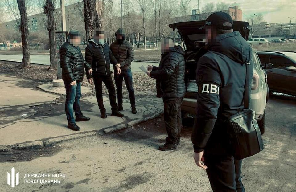 В Кривом Роге полицейский попался при получении взятки