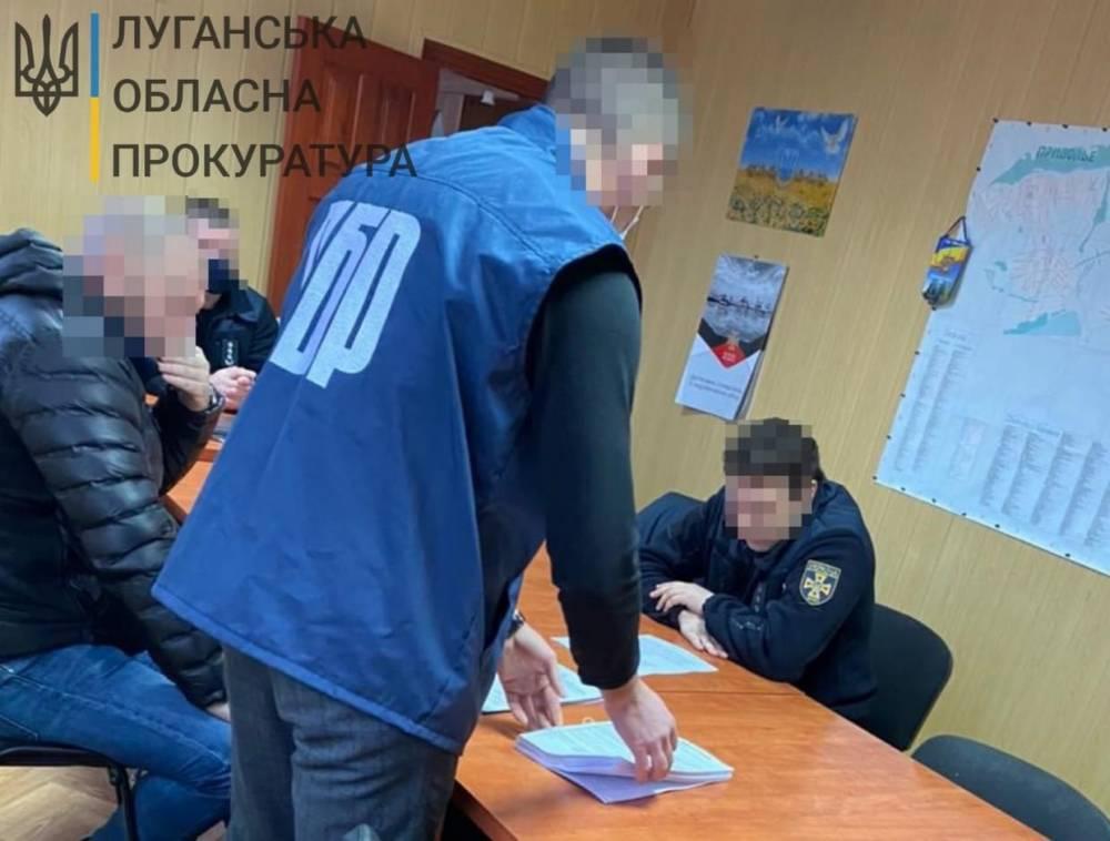 Работнику ГСЧС в Луганской области вручили подозрение в убийстве