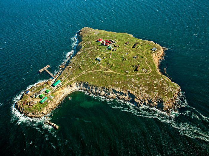 Морская спасательная служба заказала строительство радиостанции на острове Змеиный у скандальной фирмы