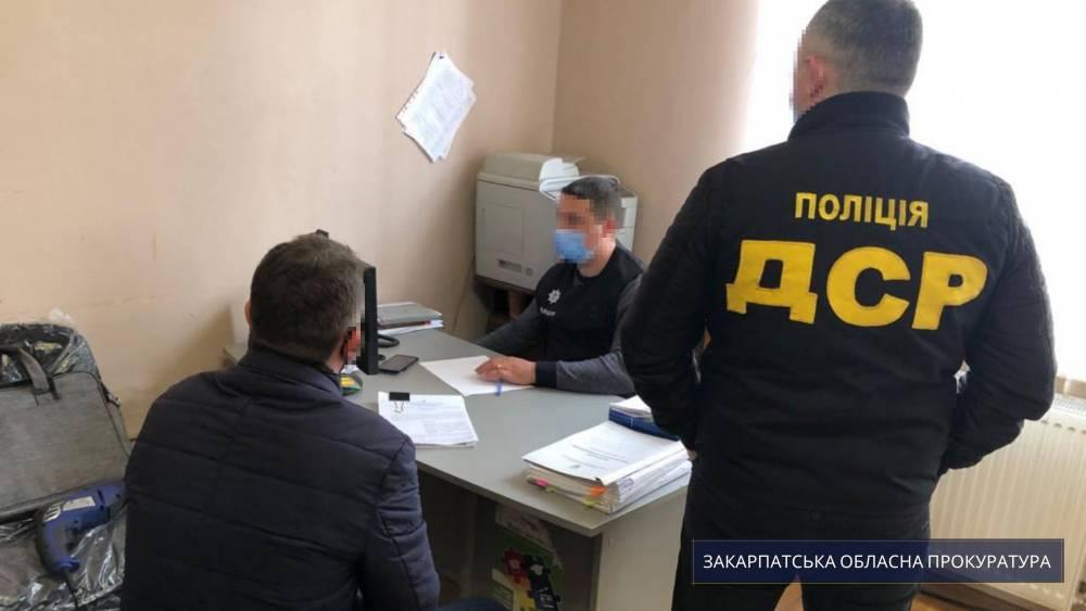 В Ужгороде медику вручили подозрение в растрате на коронавирусных закупках