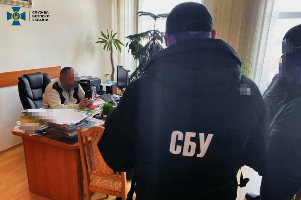 В Черкасской области на взятке задержали ректора ВУЗ