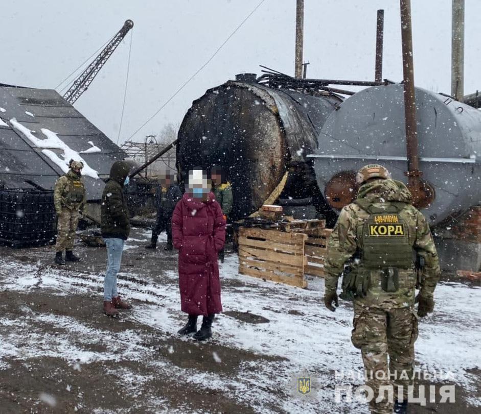 В Ивано-Франковской области преступники украли топлива на 2 млн гривен