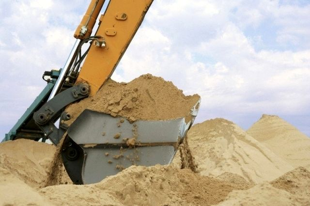 Частную компанию разоблачили на незаконной добыче песка на 88 млн гривен