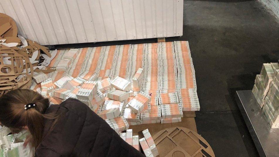 ВЧерноморском порту нашли почти 2 млн фальшивых акцизных марок