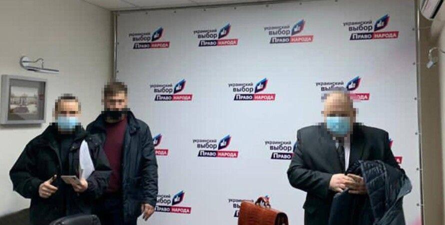 Участникам «Украинского выбора» Медведчука сообщили о подозрении