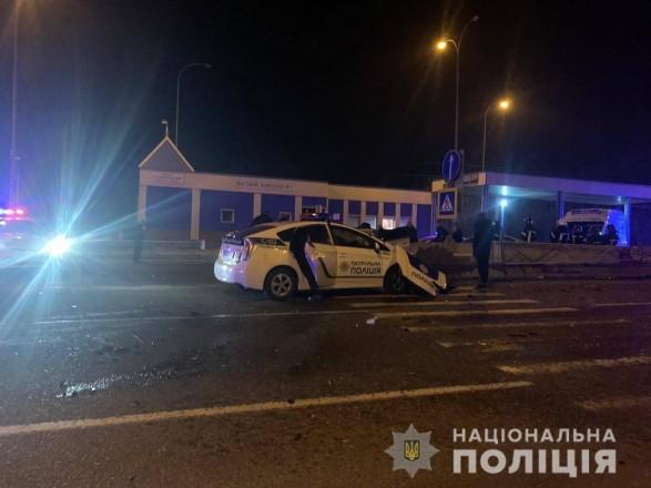 В Одесской области в аварии с патрульной машиной погиб пассажир