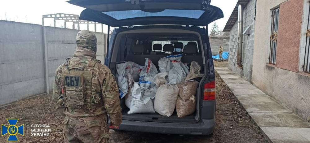 В Сарнах изъяли свыше 240 килограмм янтаря