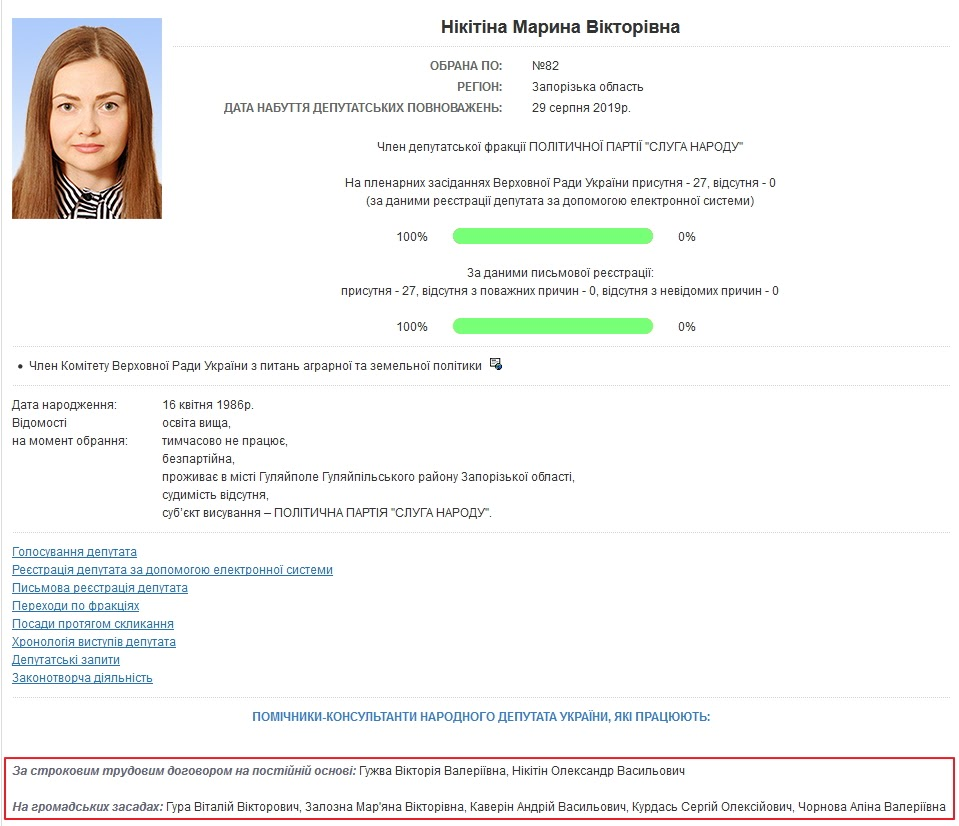 Нардеп Никитина попала в реестр коррупционеров