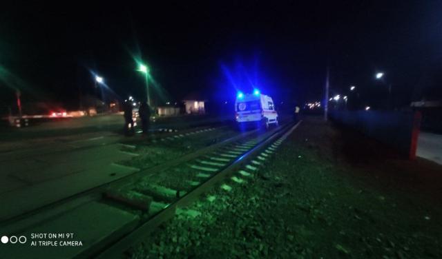 В Мукачево машина «скорой» попала в под поезд