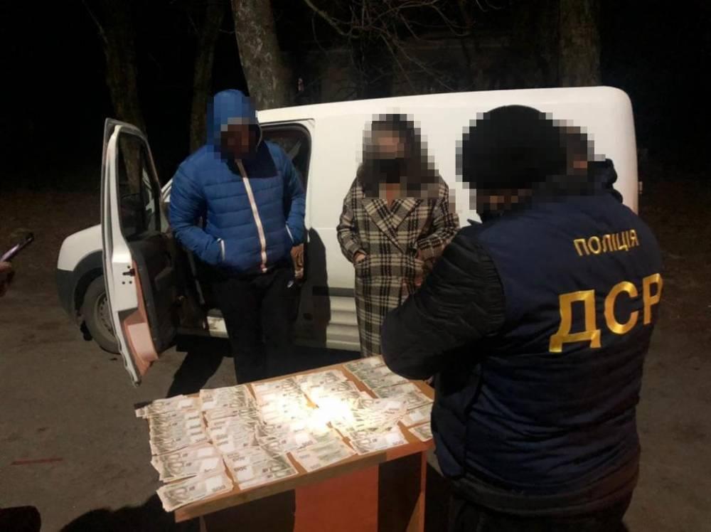 В Житомирской области на взятке 100 тысяч гривен задержали сотрудника НААН