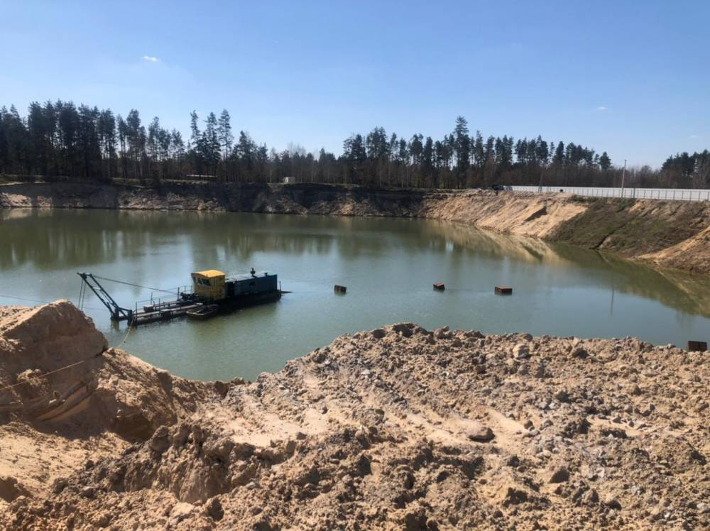 В Житомирской области бизнесмен незаконно организовал добычу песка