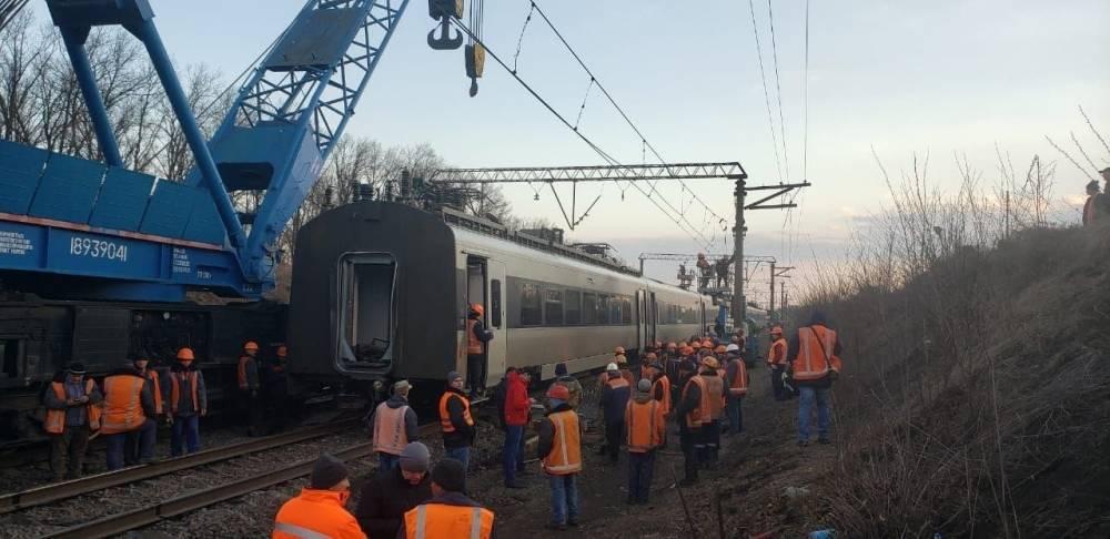 Замглавы Приднестровской железной дороги отстранили от должности из-за аварии поезда