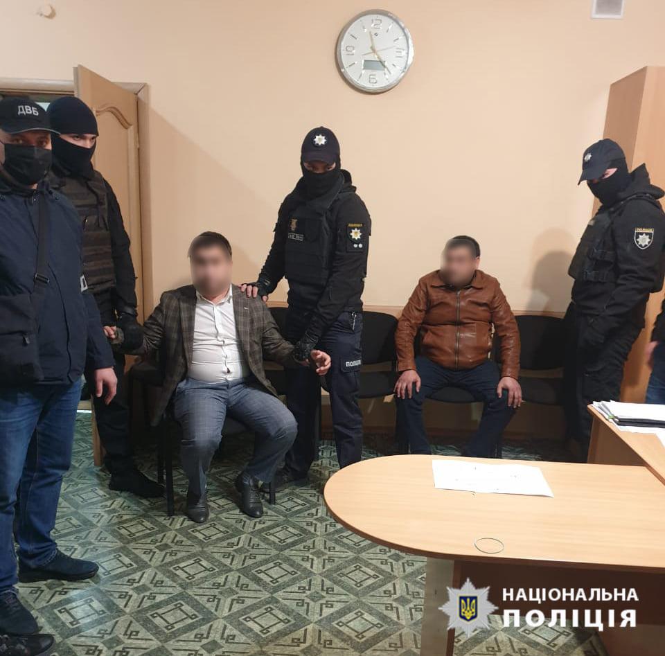 В Павлограде двух граждан РФ задержали за попытку подкупа замначальника полиции