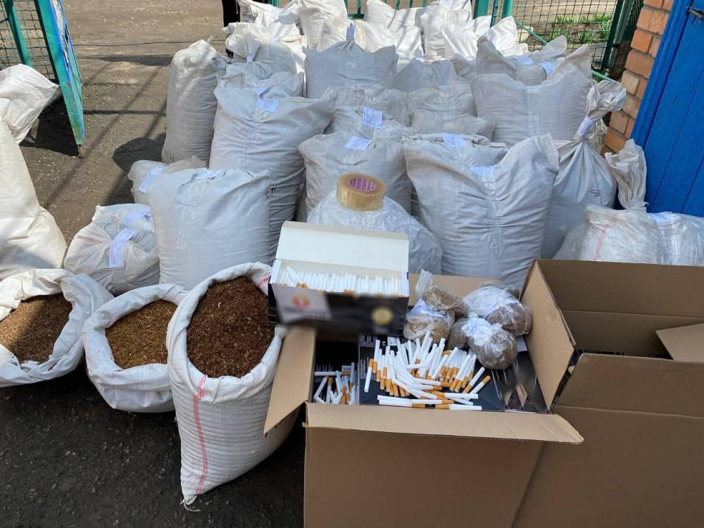 В Запорожье нашли подпольный цех по изготовлению табачных изделий
