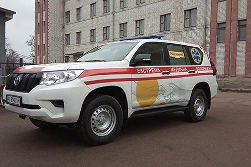 Львовские медики купят «скорые» на базе премиального внедорожника Toyota Land Cruiser