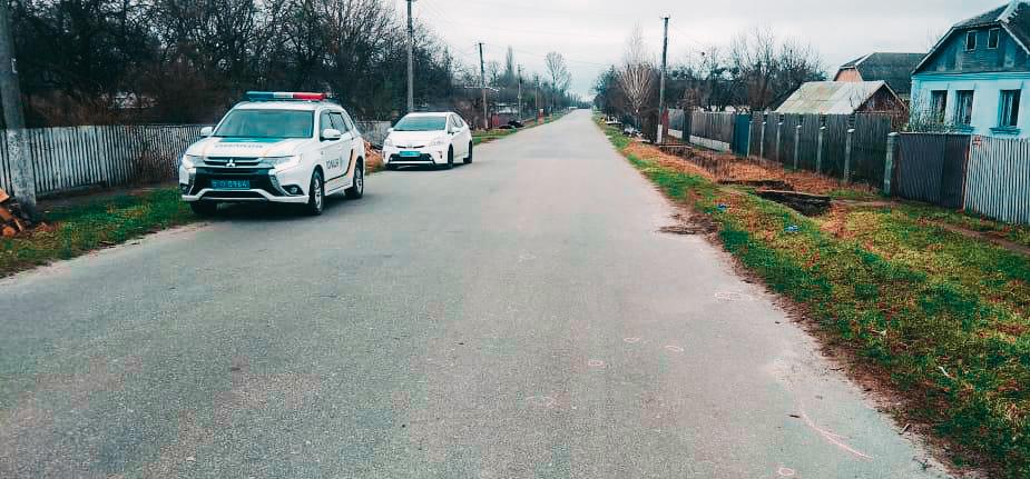 В Житомирской области полицейский сбил человека и скрылся с места ДТП