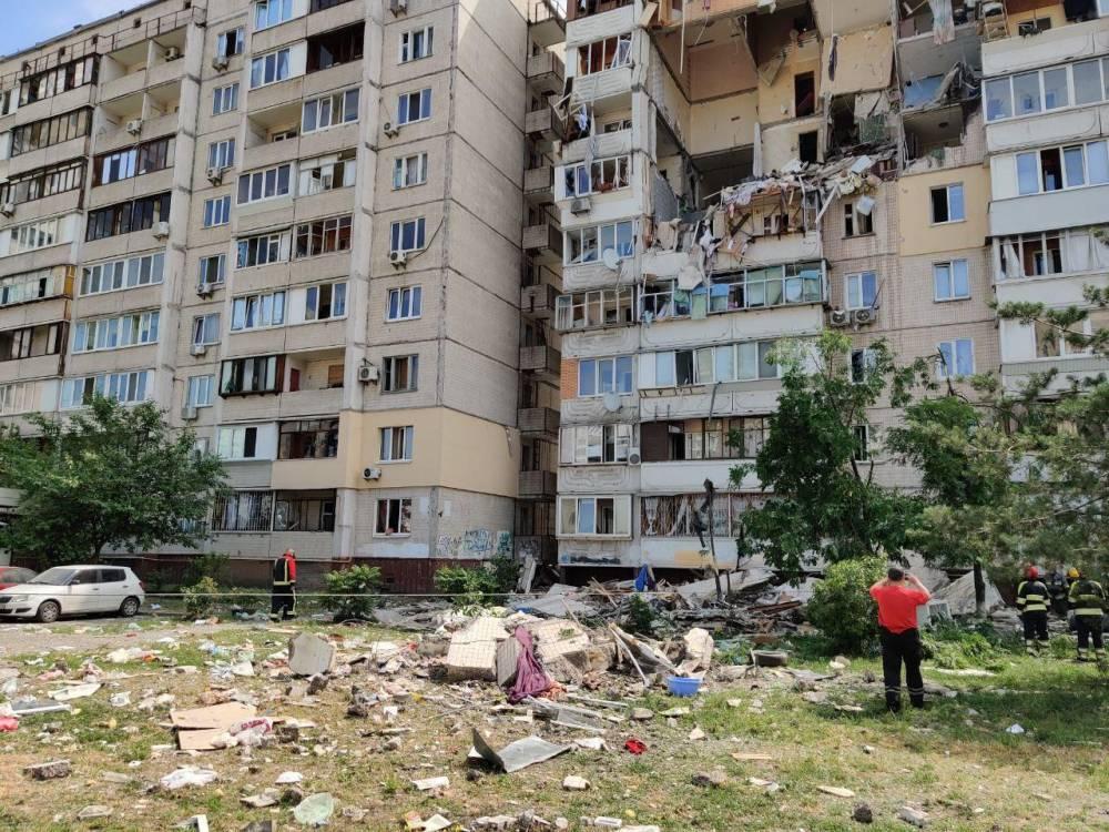 Замглавы правления «Киевгаза» вручили подозрение из-за взрыва дома