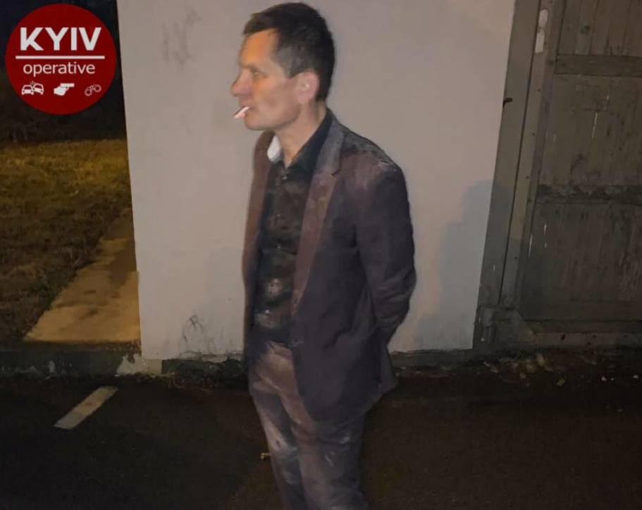 В Киеве экс-депутату вручили подозрение в поджоге