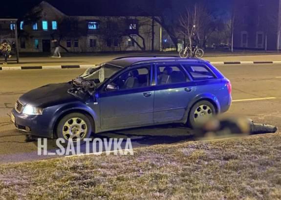 В Харькове водитель насмерть сбил полицейского