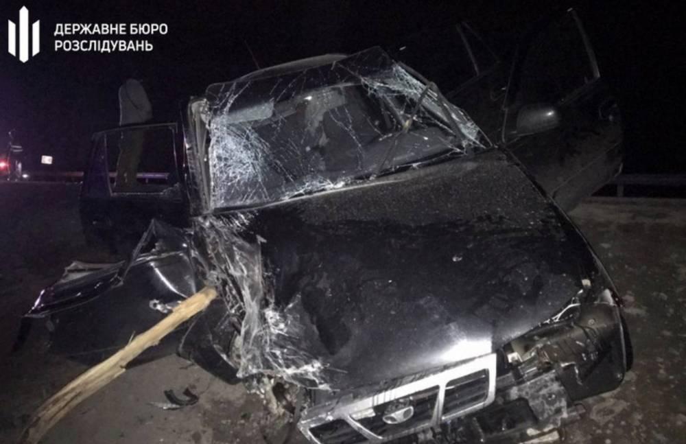 В Запорожской области патрульный устроил аварию с погибшим