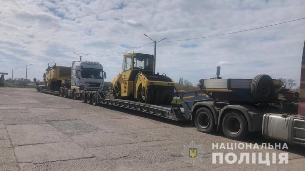 В Донецкой области раскрыли схему присвоения дорожной техники на 150 млн гривен