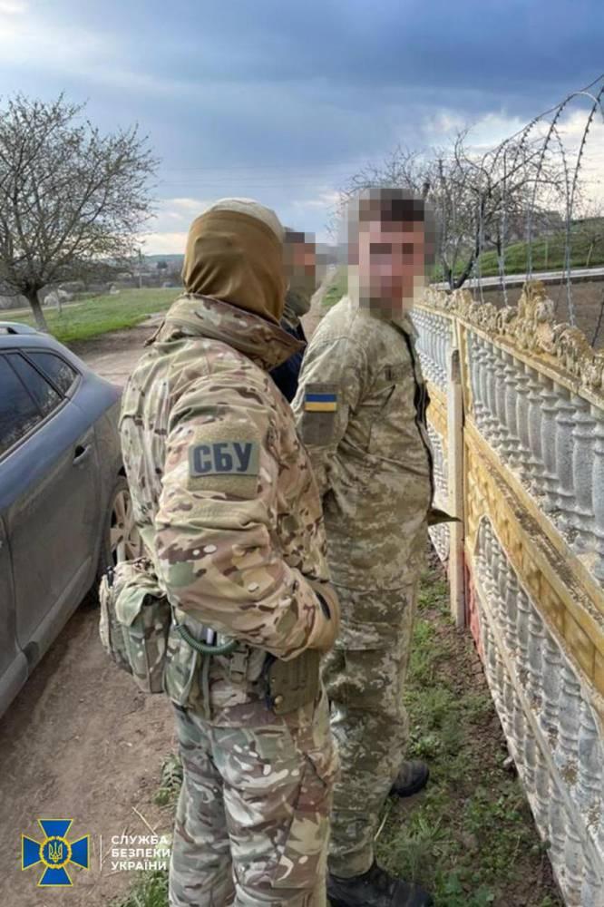 В Белгород-Днестровском на взятке задержали пограничника