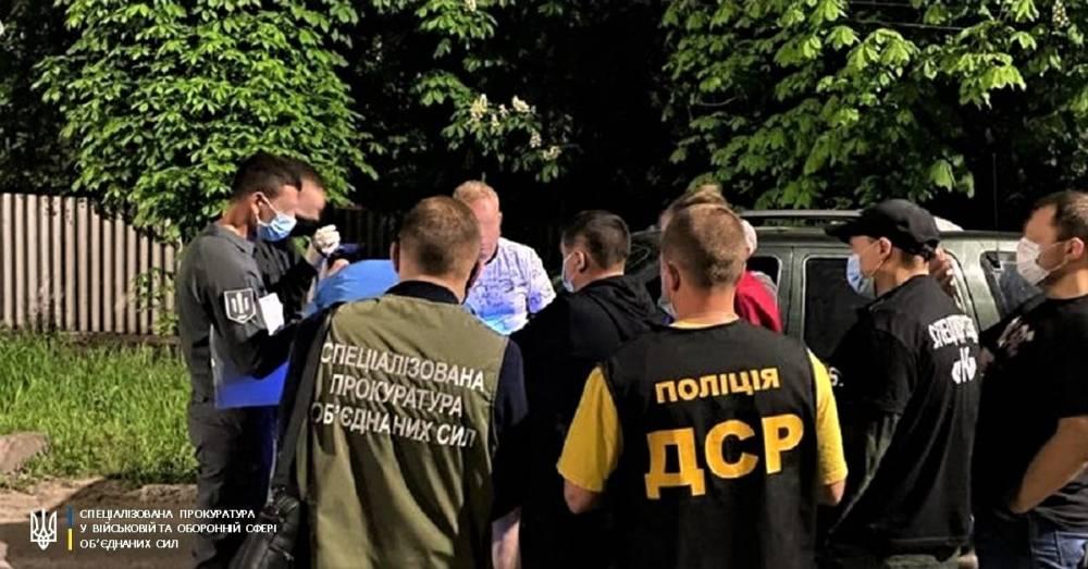 В Луганской области на взятке поймали районного военкома