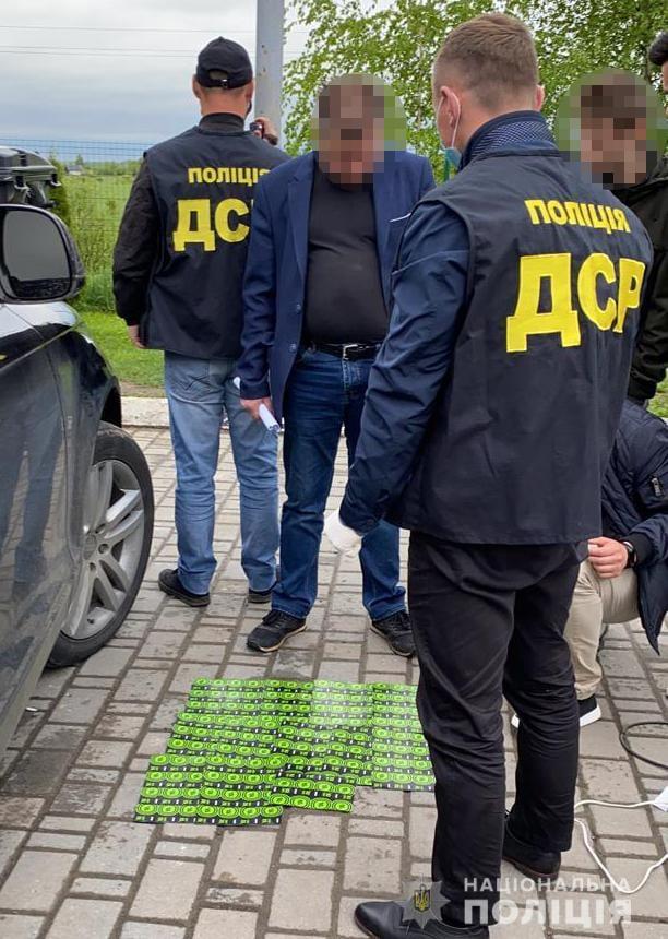 В Ивано-Франковске чиновник экоинспектор попался на взятке