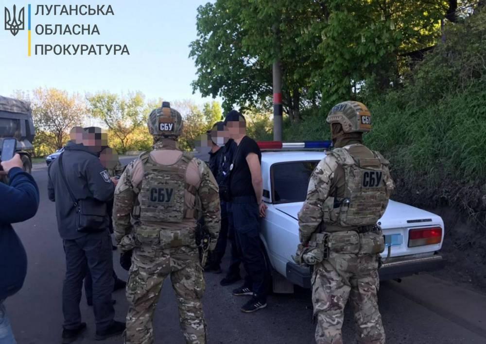 В Луганской области спецназовцы вымогали деньги у наркозависимых