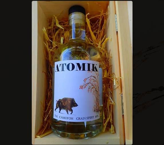 СБУ изъяла партию водки, произведенной в Чернобыльской зоне