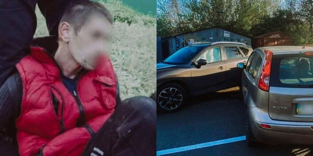 В Вишневом водитель сбил патрульного и спровоцировал три ДТП