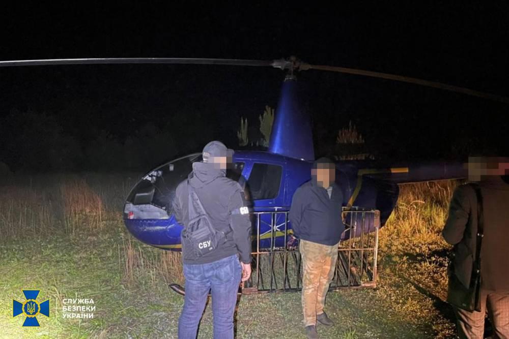 Волынские контрабандисты переправляли сигареты вертолетом