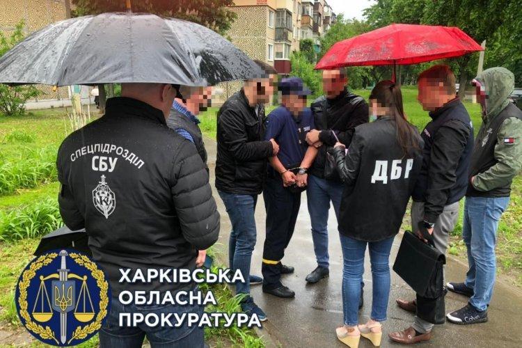 В Харькове на взятке задержали спасателя