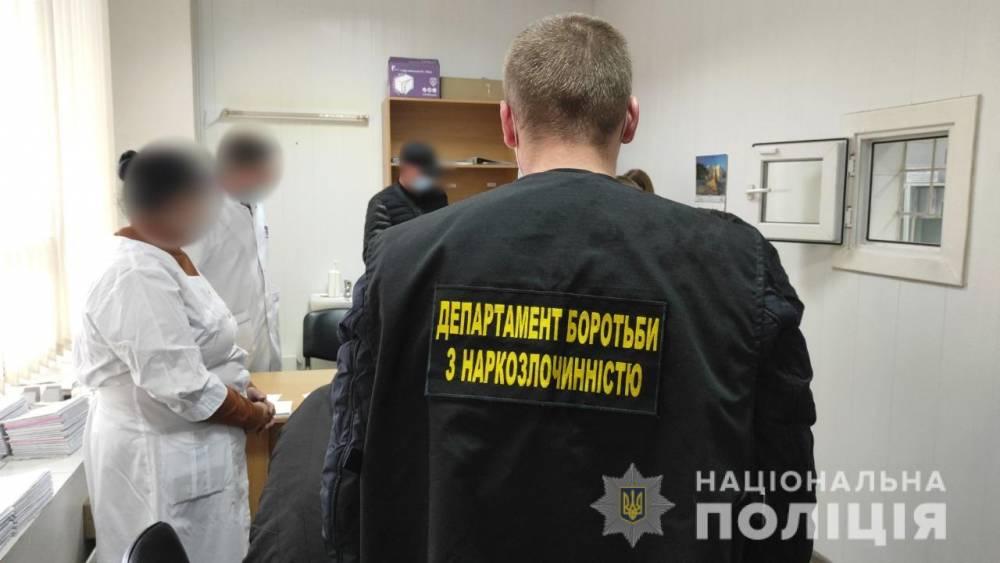 В Одессе медики торговали рецептами на наркотики