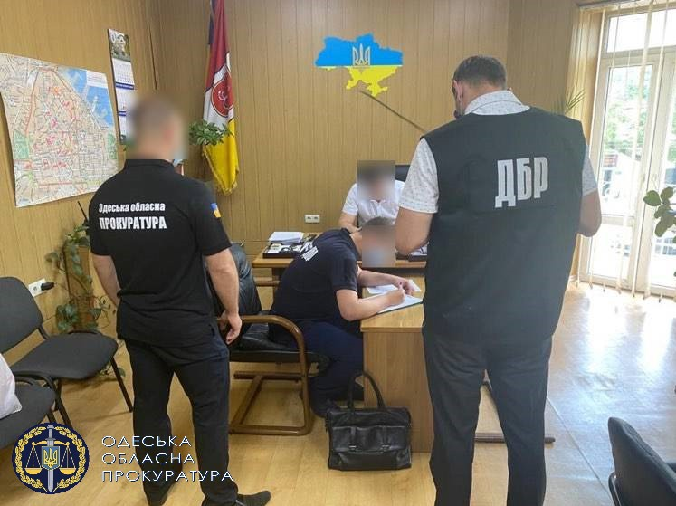 В Одессе начальнику райотдела полиции вручили подозрение в злоупотреблении властью