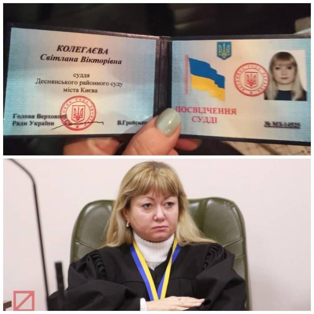 В Киеве  пьяная судья на авто чуть не наехала на пешеходов